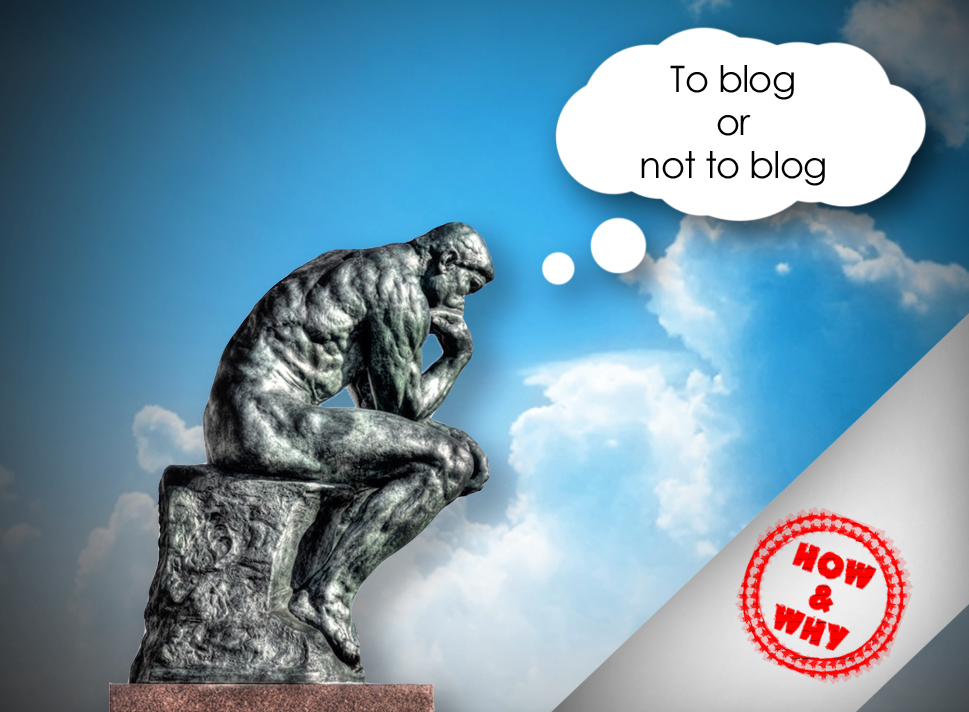 To blog on not to blog;